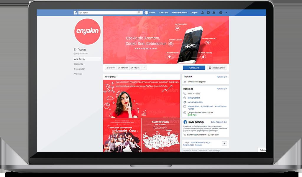 ENYAKIN.COM Sosyal Medya Yönetimi