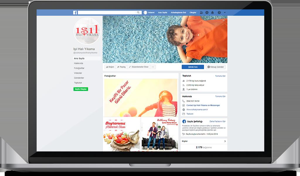IŞIL HALI YIKAMA Sosyal Medya Yönetimi