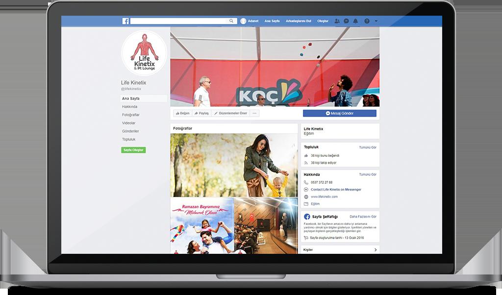 LIFE KINETIX Sosyal Medya Yönetimi